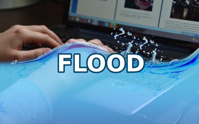 Imagem de O que é flood?