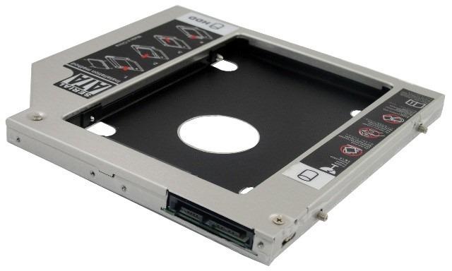 Adpatador para ter dois HDs/SSDs juntos no mesmo notebook