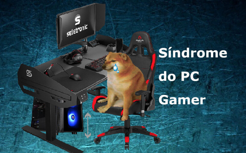 Imagem de O que é síndrome do PC gamer?