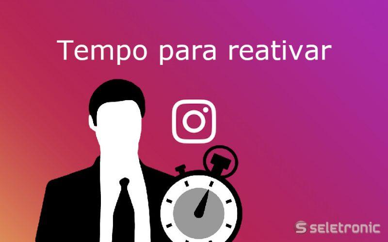 Imagem de Quanto tempo demora para reativar a conta do Instagram?