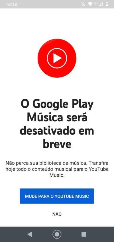 Google Play Musica será desativado em breve