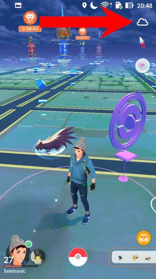 Entenda o fortalecimento de clima em Pokémon GO