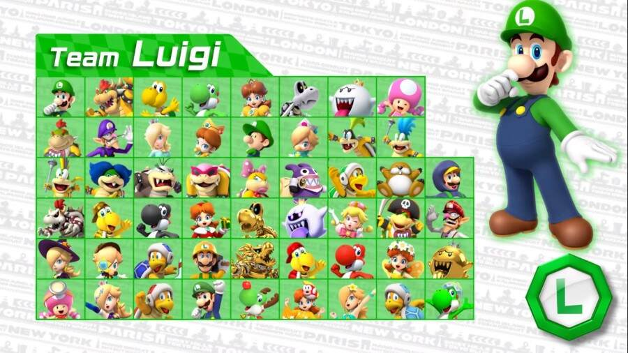 Time do Luigi