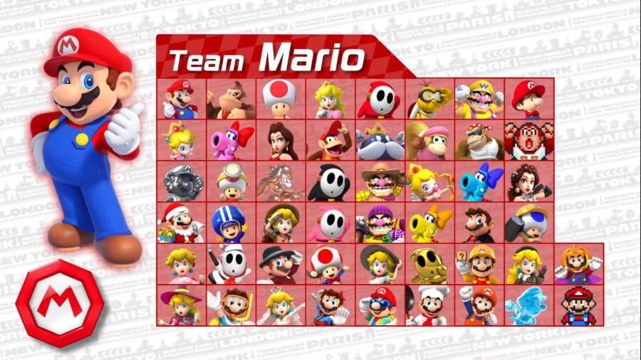 Time do Mario