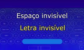 Imagem de Texto invisível: Use no Nick, Whatsapp, e outros essa letra invisível Unicode
