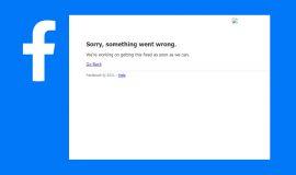 Imagem de Faceboook Fora do Ar? Facebook apresenta falhas para acessar o serviço nessa quinta feira