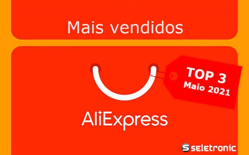 Imagem de AliExpress Top 3 eletrônicos/informática mais vendidos por categoria – Maio de 2021