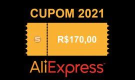 Imagem de Cupom de R$ 170,00 no AliExpress através do convite de 2021