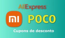 Imagem de AliExpress em liquidação na linha Poco, Miband e Cupom de desconto!
