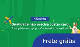 AliExpress Frete grátis: Página exclusiva para o Brasil
