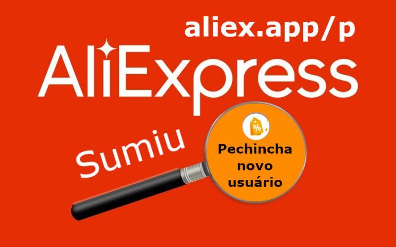 Imagem de Itens de novo usuário sumiram do Pechincha no AliExpress!