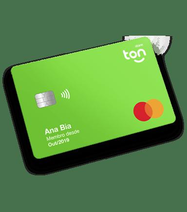 Cartão pré-pago Ton - Stone