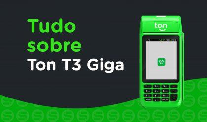 Imagem de Stone Ton T3 Giga: É boa para seu negócio? Saiba tudo sobre esse maquininha