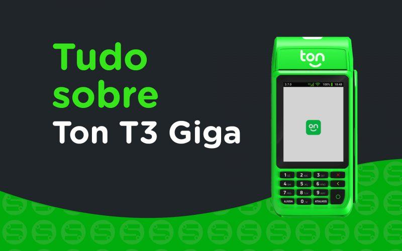 Imagem de Stone Ton T3 Giga: É boa para seu negócio? Saiba tudo sobre a maquininha