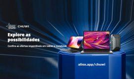Imagem de CHUWI tablets, notebooks e mini PCs até 40% de desconto no AliExpress