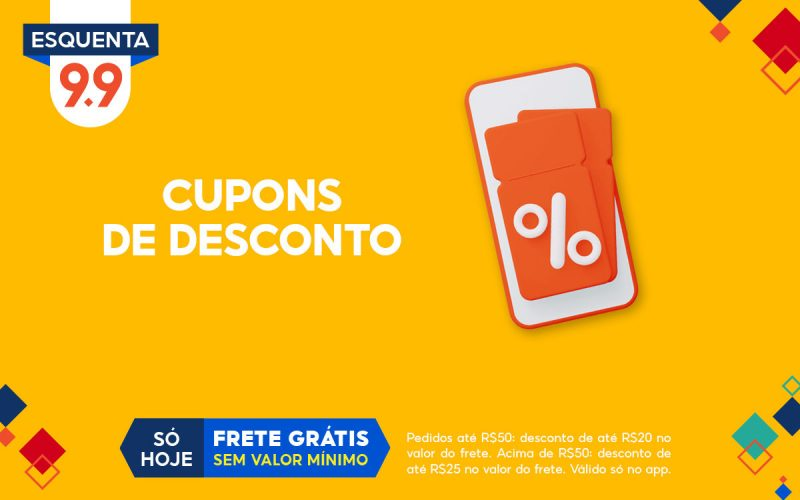Imagem de Cupons de desconto Shopee 9.9 Super Shopping e Esquenta: Página já está disponível