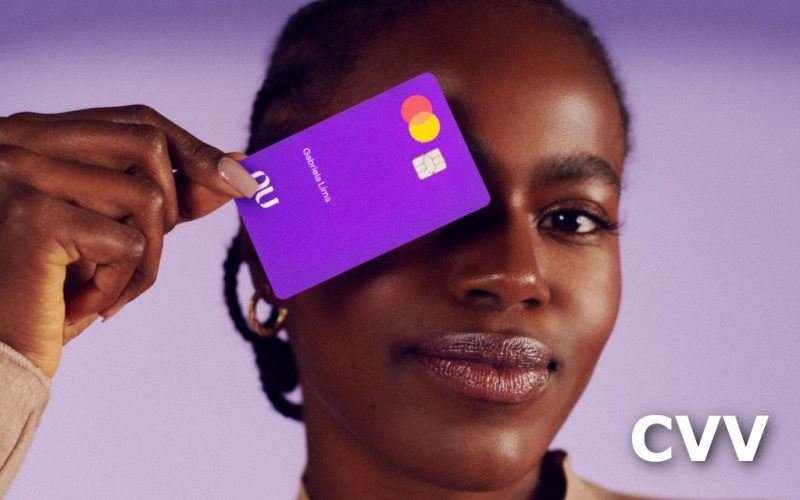 Imagem de Onde fica o CVV do cartão Nubank?
