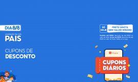 Imagem de Shopee anuncia Cupons de desconto 8/8 com frete grátis sem valor mínimo