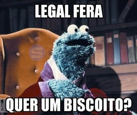 legal fera quer um biscoito meme