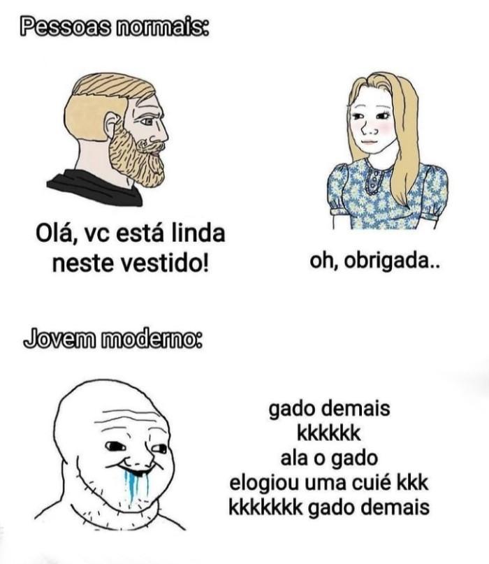 Meme - Não pode elogiar meme